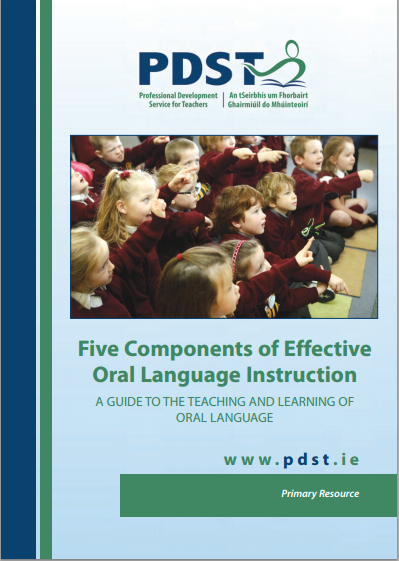Manual 5 Components Of Effective Oral Language Instruction Pdst