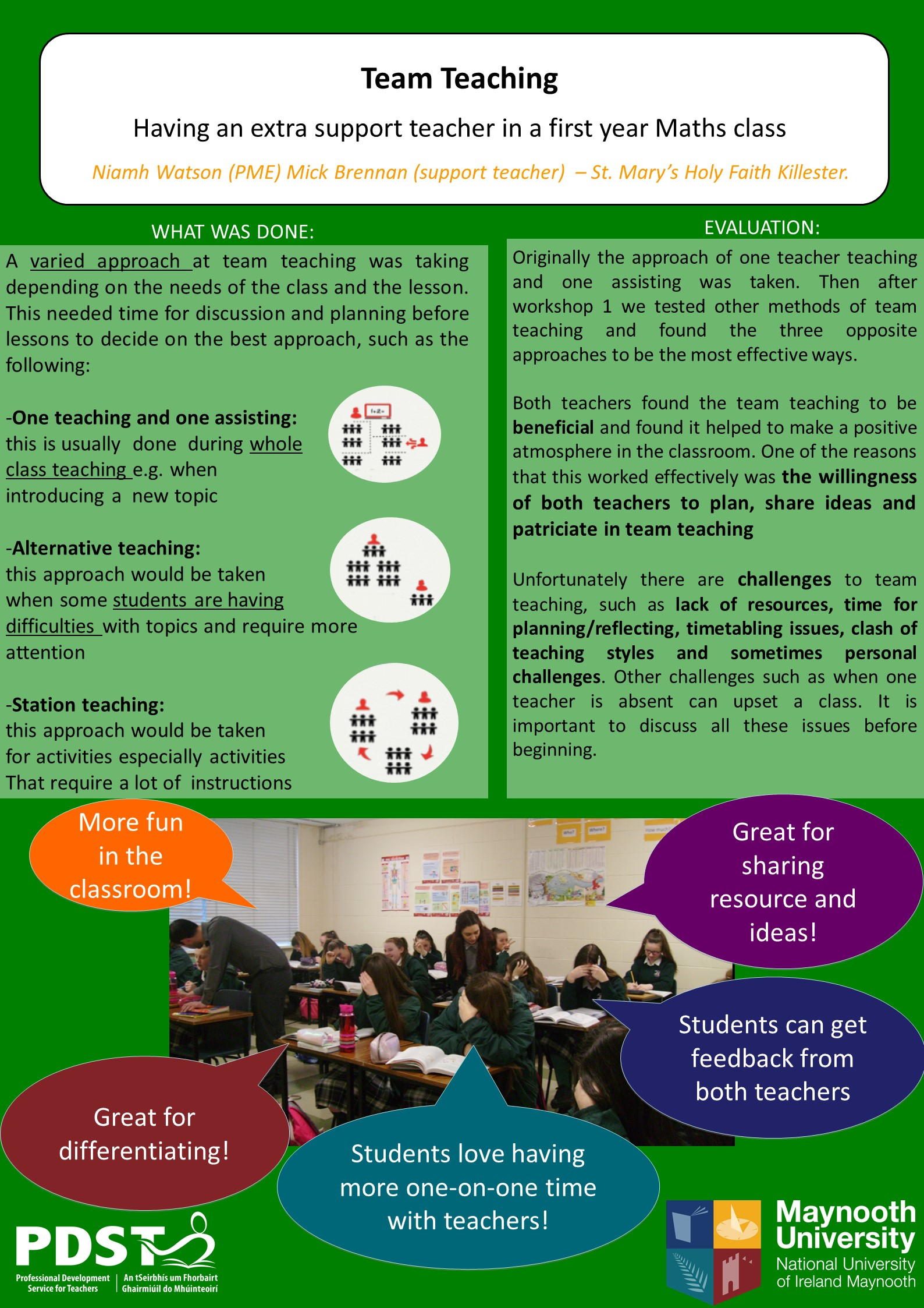 Team Teaching 2017 | PDST