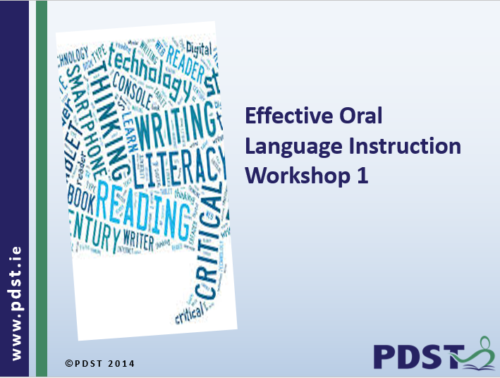 Effective Oral Language Instruction Pdst